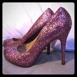 Michael Antonio, Size8.5, 5 inch heels.